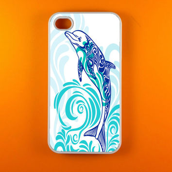 Iphone 4 Case - Dolphins Iphone Case, Iphone 4s Case