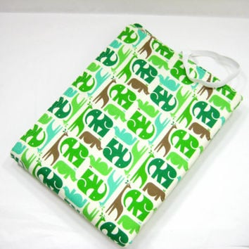 Animal Changing Mat, Mod Jungle Animal Changing Mat, Baby Shower Gift Idea
