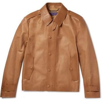 Ralph Lauren Purple Label - Woodhull Leather Jacket
