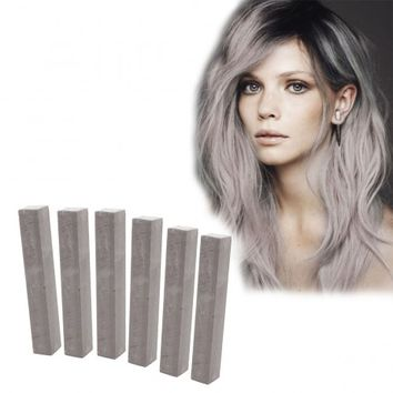 CLOUDY - Dark Grey Hair Color| HairChalk Set of 6