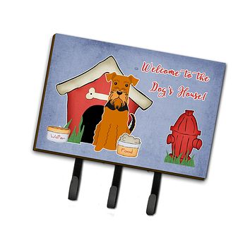 Dog House Collection Airedale Leash or Key Holder BB2795TH68