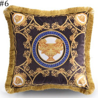 Versace 2018 new street fashion hipster living room sofa pillow F0933-1 #6