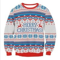 Ugly Christmas Sweaters - Merry Christmas!