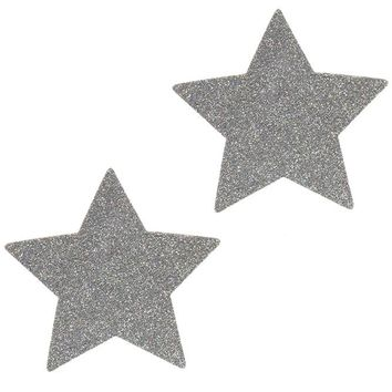 Silver Pixie Dust Star Pasties