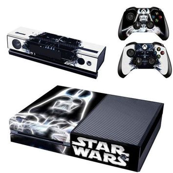 ESBON5 Star Wars Vinyl Skin Cover Stickers Decal For Xbox One Console & Kinect & 2 Controller