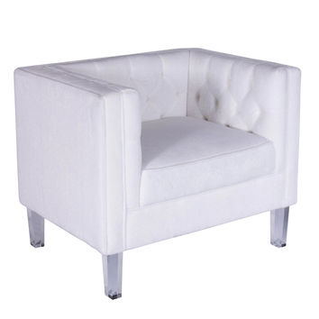 Valentina Chair Bone White