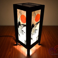 Table Lantern Night Lights Crane and The Sun For Home Decoration and Wedding Lights