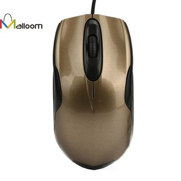 Malloom 2017 Wired Gaming Optical Mouse 1600 DPI 3 Botton USB Wired Optical Gaming Game Mice Mouse For PC Laptop#25