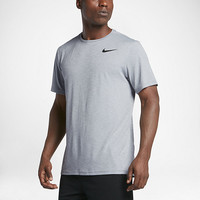The Nike Breathe Men's Short Sleeve Training Top.