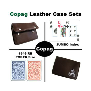 1546 RB Poker Jumbo Leather Case