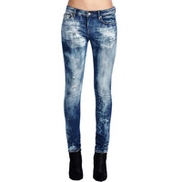Cult Of Individuality Zen Midrise Womens Jeans In Tonic