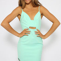 Partition Dress - Mint