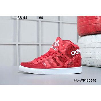 ADIDAS Clover classic retro men and women high top shoes #4