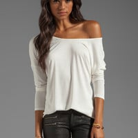 Nation LTD Marco Island Tee in Winter White from REVOLVEclothing.com