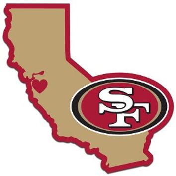 San Francisco 49er's Home State Decal