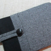 Kindle Paperwhite / Mini ipad / Kindle Voyage / Nexus 7  100%  Wool & Cashmere Fabric Sleeve