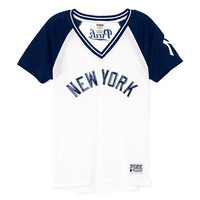 New York Yankees Bling Mesh Jersey - PINK - Victoria's Secret