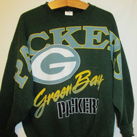 Vintage 1990's Green Bay Packers Sweatshirt