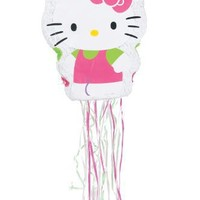 Ya Otta Pinata Pull Pinata, 22 by 17-Inch, Hello Kitty
