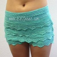 Country Girl Shorts  - Mint