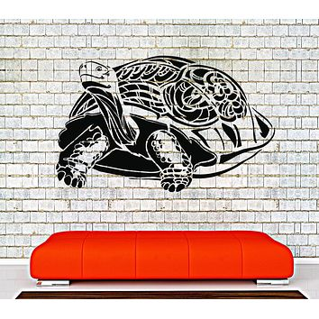 Vinyl Wall Decal Sea Turtle Animal Room Decoration Stickers Unique Gift (ig4255)