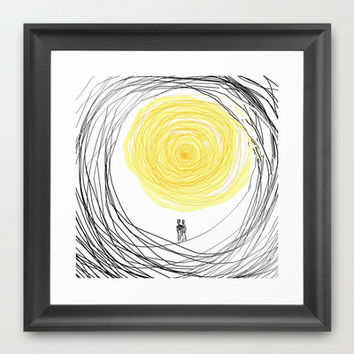 You are My Sunshine Framed Art Print by RokinRonda
