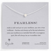 Dogeared 'Whispers - Fearless' Pendant Necklace   Nordstrom