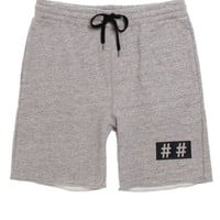 Been Trill Trill Sweat Shorts - Mens Shorts - Gray