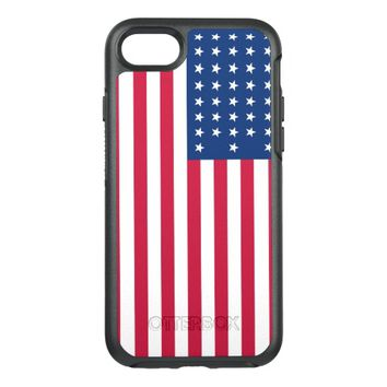 American Flag Patriotic OtterBox Symmetry iPhone 7 Case