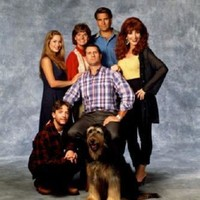 Married With Children Cast poster Metal Sign Wall Art 8in x 12in