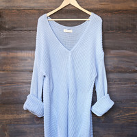 super oversized knit sweater tunic