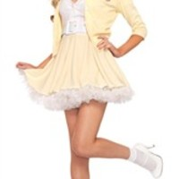 Halloween Costumes | Leg Avenue Costumes gr83916 - 2 PC. Grease Good Sandy Costume