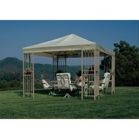 Sunjoy Target Summer Island Gazebo Sunshade Replacment Fabric