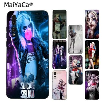 MaiYaCa Suicide Squad Harley Quinn Joker Movie phone case for Huawei Mate10 Lite P20 Pro P9 P10 Plus Mate9 10 Honor 10 View 10