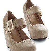 ModCloth Lovely Foundation Wedge