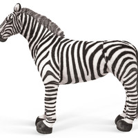 Giant Plush Zebra, Children's Toys