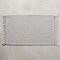 Yarn-Dyed Malvina Bathmat by Anthropologie