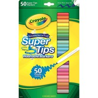 Crayola Super Tips Fine Line Washable Markers, 50 Count - Walmart.com