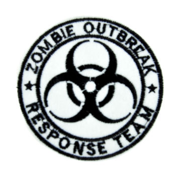 Zombie Outbreak Response Team Patch Iron on Applique Occult Clothing