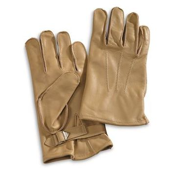 U.S. Military WWII Paratrooper Gloves, Reproduction - 674409, Reproduction Memorabilia at Sportsman's Guide