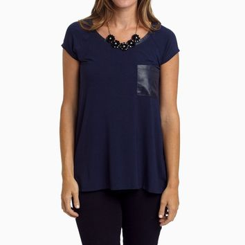 Navy-Blue-Leather-Pocket-Accent-Top