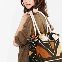 Osei Duro Canvas Rope Tote Bag- Brown One