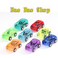 2pcs Baby Toys Pull Back Cars Plastic Cute Toy Cars for Child Wheels Mini Car Model Funny Kids Toy for Boys Random Color