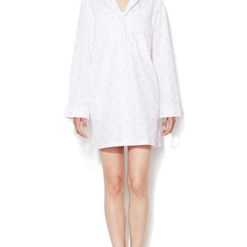 Three J NYC Women's Audrey Cotton Nightshirt -