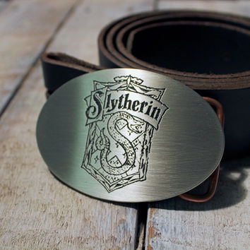 Slytherin Crest HARRY POTTER Belt Buckle