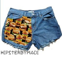 HipsterbyMadi — Limited Edition Burger Shorts