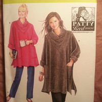 Uncut Simplicity Sewing Pattern, 2289! XS-Small-Medium-Large-XL/Women's/Misses/Loose Fitting Tunic/Knit Pants/Stretch Knit tops/bottoms