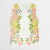 Factory fruit salad collector tank top