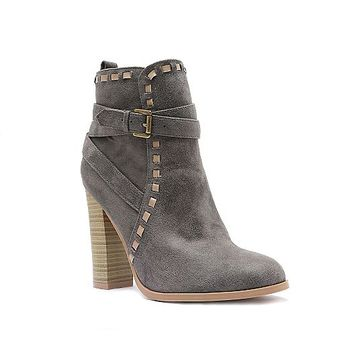 Women's Wrap studded bootie