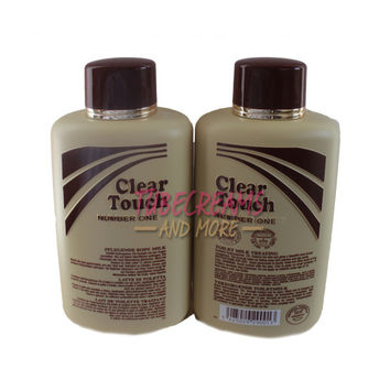 Clear Touch Body Milk Lotion 16.9oz ( 2pack)